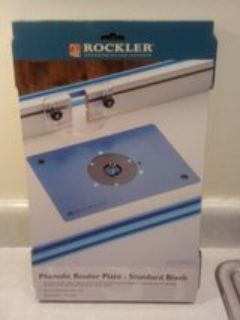 Router plater