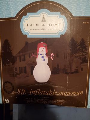Trim a Home 8ft snowman