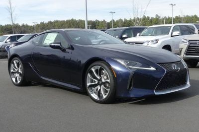 2018 Lexus LC 500 (blue)
