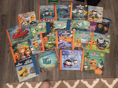 Collection of Octonaut books- excellent condition!