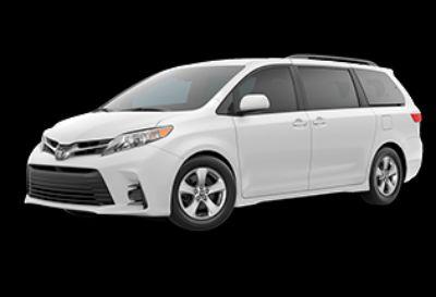 2020 Toyota Sienna LE Auto Access Seat (Super White)