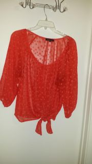 Heart and Soul Large top in orange