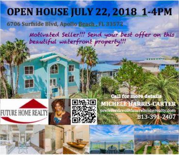 OPEN HOUSE - 6706 SURFSIDE BLVD, APOLLO BEACH, FL 33572