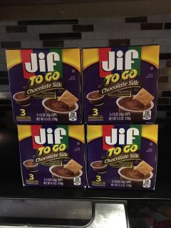 4 packs of new Jig chocolate silk to go packs