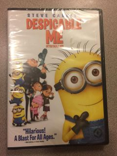 New sealed package Despicable Me DVD