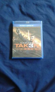 Taken 3 Unrated Blu-ray Disc (Fox 2014, 2015)