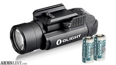 For Sale: Olight PL-2 Valkyrie 1200 Lumen Pistol Light for Glock Sig Sauer S&W FL-OL-PL2