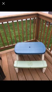 Toddler step 2 picnic table