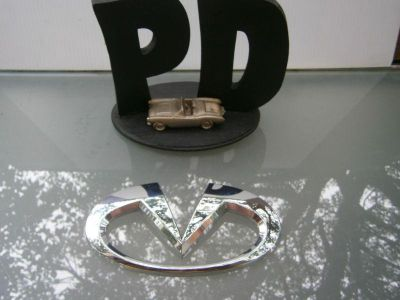 Find 2008-2009 INFINITI EX35 JOURNEY CHROME FRONT GRILL EMBLEM ASSY OEM/WARRANTY motorcycle in North Miami Beach, Florida, US, for US $64.98