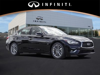 2018 Infiniti Q50 CAR (BLACK OBSIDIAN)