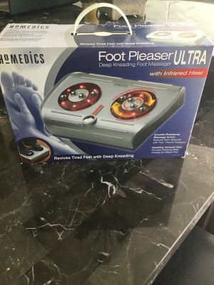 BRAND NEW ( in original packaging) HOMEDICS Foot Pleaser (massager) Ultra
