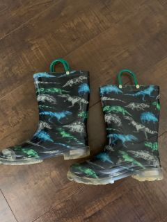 Light Up Toddler Dino Boots