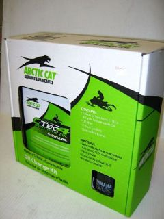 Purchase Arctic Cat C-Tec4 Synthetic Snowmobile Oil Change Kit 1049 Triples 6639-529 motorcycle in Grimes, Iowa, United States, for US $37.99