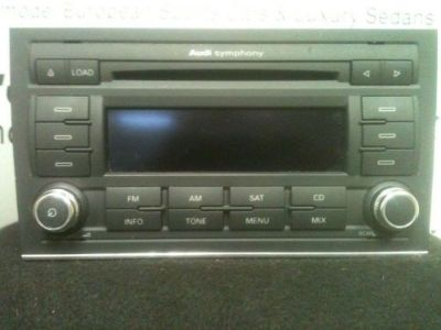 Find 2006 2007 2008 AUDI A4 AUDIO RADIO AM/FM/CD OEM 06 07 08 motorcycle in Farmington, Michigan, United States, for US $114.99