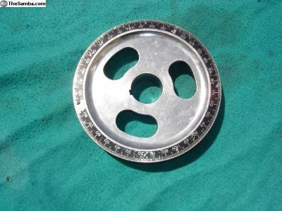 Sand Seal Degree Aluminum Pulley