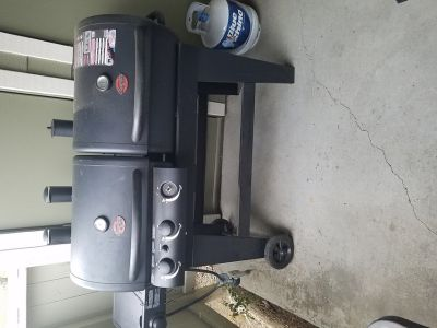 Char-Grill Gas and Charcoal grill