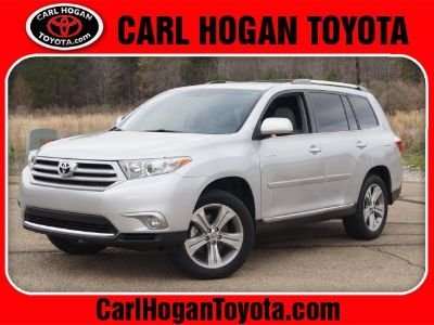 2013 Toyota Highlander Limited (Classic Silver Metallic)