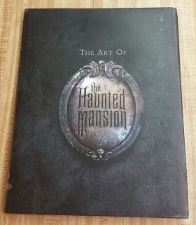 The Art of the Haunted Mansion HARDCOVER Disney
