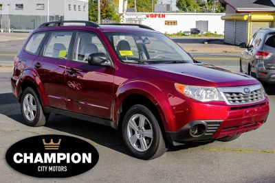 2011 Subaru Forester 2.5X (Paprika Red Pearl)