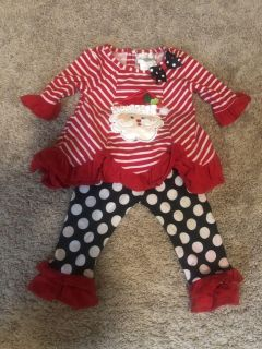 Christmas Outfit 12 mo