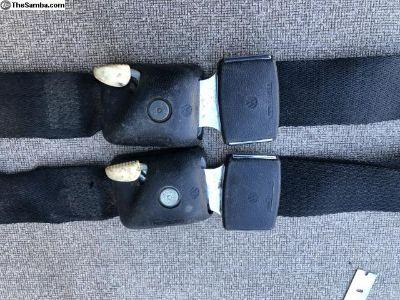 68-69 VW Bus rear seat belts