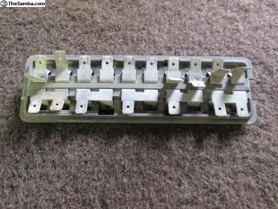 Original 10 Block Fuse Panel, 1967