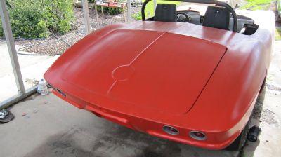 62 Corvette gasser