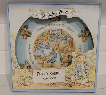 Wedgwood Peter Rabbit Happy Birthday Plate