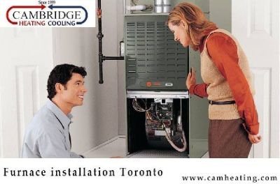 Furnace Installation Toronto, Scarborough, Mississauga, Ajax & Brampton
