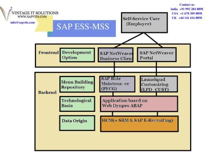 SAP ESS MSS Online Training in India, SAP ESS MSS Module
