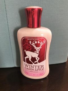 Bath and Body Works Winter Candy Apple Body Lotion