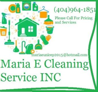 Maria E Cleaning Service INC. (404)964-1851