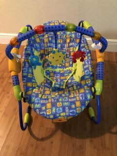 Lights and sounds baby seat
