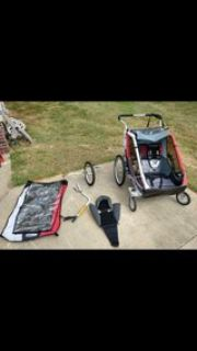 chariot cougar2 double stroller