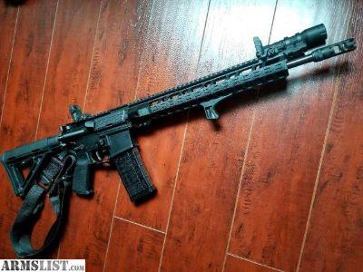 For Sale: Custom AR15, NEW Never Fired