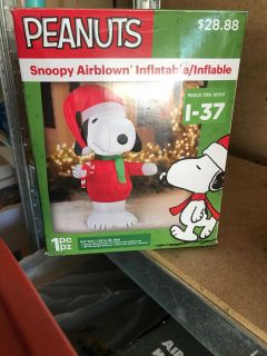 Snoopy inflatable