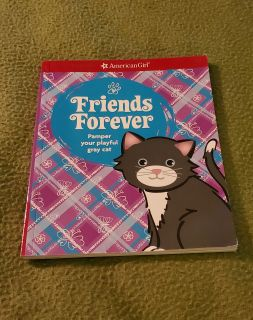 American Girl Friends Forever Pamper Your Playful Gray Cat