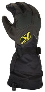 Purchase 2013 Klim Men's Fusion Snowmobile Gore Tex Glove Black XS motorcycle in Ashton, Illinois, US, for US $115.99