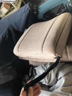 Oval back rest seats