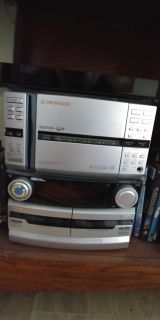 Pioneer CD, Tape and radio. With 2 speakers.