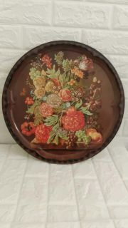 Beautiful Victorian design tray by DAHER