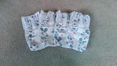 Huggies size 4 free with purchase