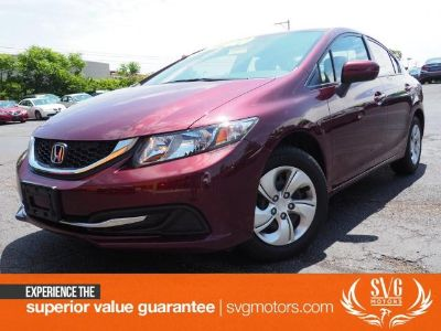 2015 Honda Civic LX (Crimson Pearl)