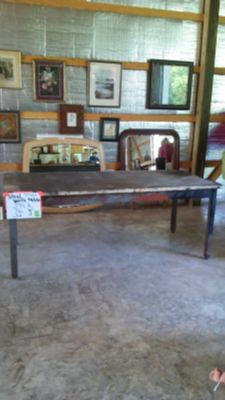 Steel Work Table - Anderson Dickey