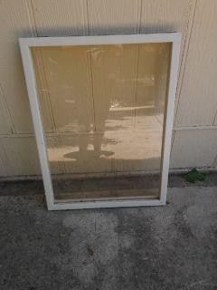 Metal window panels