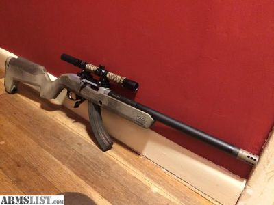 For Sale/Trade: Ruger 10/22 takedown custom build