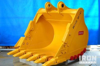 "Emaq 54"" Excavator Bucket - Fits Cat 325 W/ ""C"" Linkage - Unused"