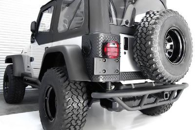 Purchase Rugged Ridge 11503.12 - 97-06 Jeep Wrangler Rear RRC Bumper w/o Tire Carrier motorcycle in Suwanee, Georgia, US, for US $419.99