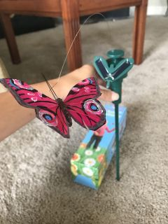 Solar Powered Butterfly