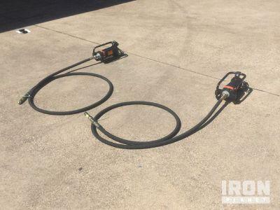 Lot of (2) GWalker CNGV-2HD Concrete Vibrator - Unused